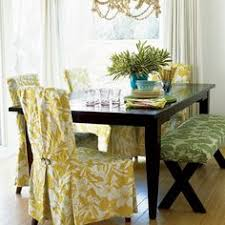 24 budget friendly mini makeovers dining room chair slipcovers