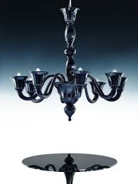 voltolina authentic italian laa 8 lights murano chandelier black
