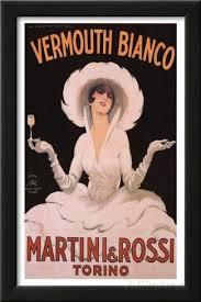 marcello dudovich vermouth bianco martini rossi art print poster framed art print on martini and rossi wall art with marcello dudovich vermouth bianco martini rossi art print