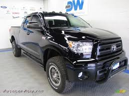 2010 Toyota Tundra TRD Rock Warrior Double Cab 4x4 in Black ...