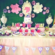 wall decoration for birthday party elegant unicorn birthday party candy buffet