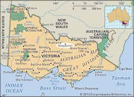 General map of australia the map shows mainland australia and neighboring island countries with international borders, state boundaries, the national capital canberra, state and territory capitals, major cities, main roads, railroads, and international airports. Shepparton Victoria Australia Britannica
