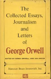 the collected essays journalism and letters of george orwell  george orwell collected essays journalism and
