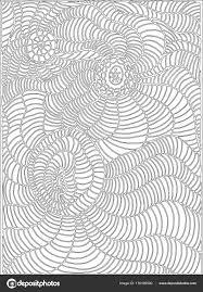 Kleurplaat Pagina Lijn Doodle Stijl Kunst Voor Kinderen En