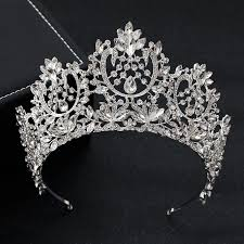 <b>KMVEXO New</b> Vintage Luxury Big European Bride Wedding Tiaras ...