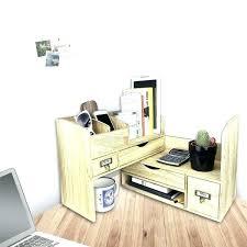 office desk with bookshelf. Office Desk Shelf Organizer Loon Peak Adjustable Wooden Desktop  Supplies Storage With Bookshelf