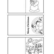 Gift Tag Coloring Page Snowman Gift Tags Coloring Pages Hellokids Com
