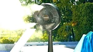 misting fan home depot best outdoor misting fan home depot pedestal ideas with tank misting fan
