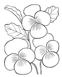 Spring Flower Coloring Pages Flower Coloring Pages Free Printable