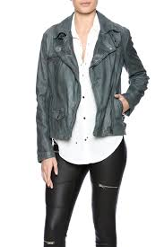 lucky brand authentic moto jacket front cropped image