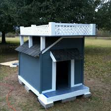 images about Dog houses on Pinterest   Dog Houses  Awesome     Story Dog House made for Roxy