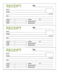 printable receipts free free rent receipt templates download or print hloom