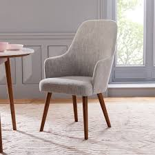high back upholstered dining chairs. Mid-Century High Back Upholstered Dining Chair Chairs