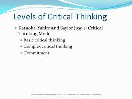 Cornell critical thinking test level z answers