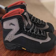 Simms Shoes Mens Simms G3 Guide Wading Boots Color Gray