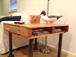 diy pallet iron pipe. Diy Copper Pipe Side Table Pallet Iron West Elm Industrial S