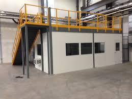 warehouse mezzanine modular office. Modular Inplant With Mezzanine Warehouse Office M