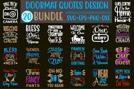 Please make sure that you have software that is compatible with the svg format before. 0 Doormat Svg Designs Designs Graphics