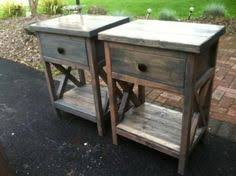 reclaimed wood diy nightstands x country pine free plans by ana whitecom rustic ana white completed eco office desk