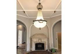 huge antique french style chandelier vintage industri