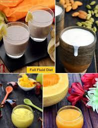 Full Fluid Diet Indian Healthy Veg Recipes