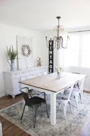 this spring cote dining room is simple and bright perfect for the change of season