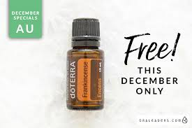 december 2017 promotion free frankincense ora leaders