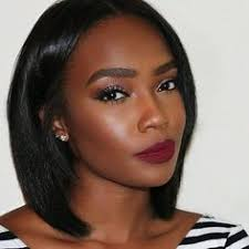 very nice makeup and pretty bob style now you can get this with our whole