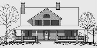 house front drawing elevation view for 9929 brick house plans daylight basement house plans
