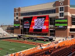 Boone Pickens Stadium Oklahoma State Cowboys Stadium Journey