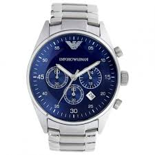 top 5 most popular best selling emporio armani watches for men emporio armani men s ar5860 silver stainless steel quartz watch blue dial