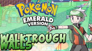 Pokemon HD: Pokemon Mega Emerald X And Y Cheat Code Walk Through Walls