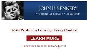 profile in courage essay contest montcalm info