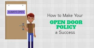 Tips on How to Make Your Open Door Policy a Success