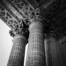 architectural photography. A Photo Showing The Architectural Details Of Building\u0027s Designed Columns Photography