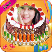 Name Photo On Birthday Cake Love Frames Editor For Android Apk