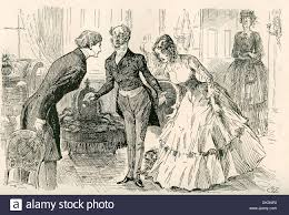 david copperfield novel characters charles dickens david  david meets dora and miss murdstone illustration by harry furniss david meets dora and miss murdstone