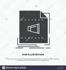 Vector Image Format In Ui Design Audio File Format Music Sound Icon Glyph Vector Gray