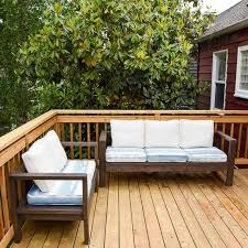 diy outdoor loveseat and sofa the