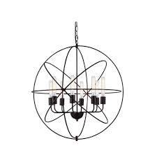 elegant the art of lighting. Vienna 8-Light Dark Bronze Pendant Lamp Elegant The Art Of Lighting E