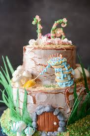 Rustic Fairy Birthday Cake Tikkidocom