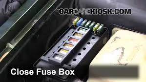 land rover discovery fuse box diagram  replace a fuse 1994 1998 land rover discovery 1998 land rover on 1998 land rover discovery