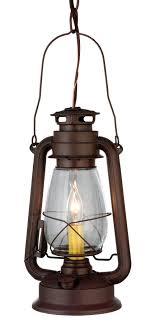 Rustic Lantern Lights Meyda 114828 Miners Lantern Mini Pendant