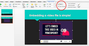 For Powerpoint How To Embed A Video In Powerpoint Biteable