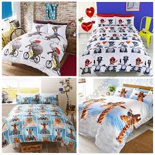 fun animal single duvet covers dogs elephant giraffe orangutan bedding free p p