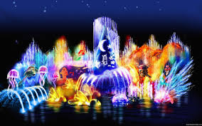 Disney World Water Light Show World Tourism City Of Dreams Disneyland In California