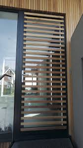 aluminium contemporary door