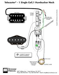 tele wiring diagram 1 single coil 1 neck humbucker my other wiring option