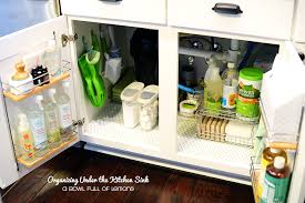 how to make the most of the space under the sink in the kitchen idea 1