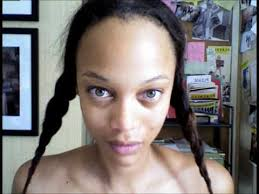 celebrities without makeup tyra banks horror